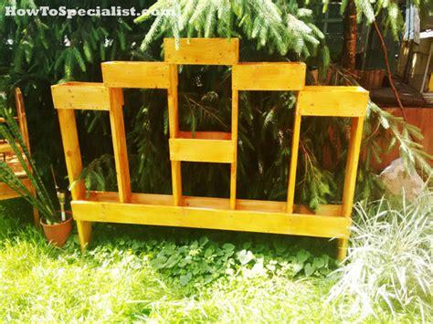diy vertical garden plans myoutdoorplans  woodworking plans  projects diy shed