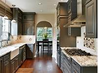dark kitchen cabinets Black Kitchen Cabinets: Pictures, Ideas & Tips From HGTV ...