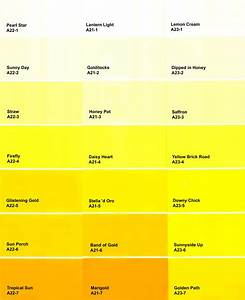 Dulux Yellow Colour Chart Urochrome Pigment A Primer Find An Outlet