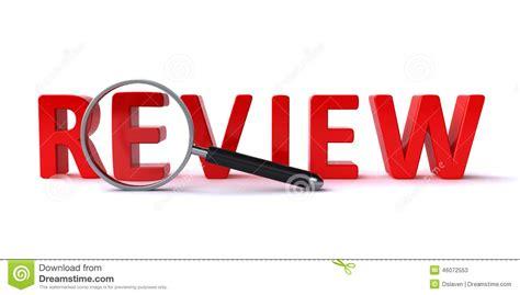 Review Concept Stock Illustration. Illustration Of Render