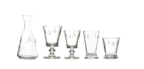 la rochère verre verres en cristal verres en cristal uni service de verres