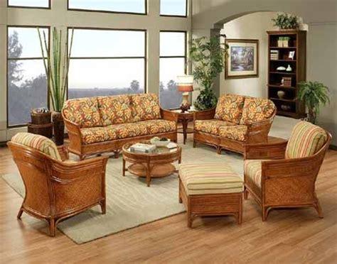 beautiful indoor wicker  rattan living room