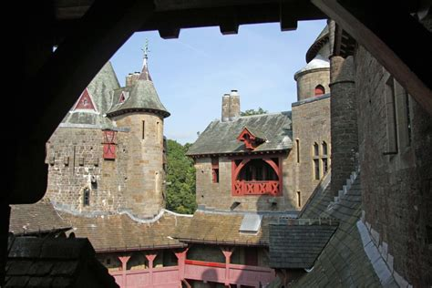 castell coch red castle  cardiff andberlin