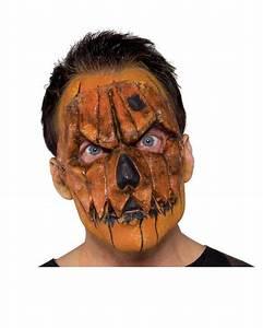 Halloween Kostüm Kürbis : k rbis halbmaske klassische halloween maske horror ~ Frokenaadalensverden.com Haus und Dekorationen