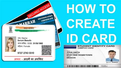 How To Create Id Card  Professional Card Design With