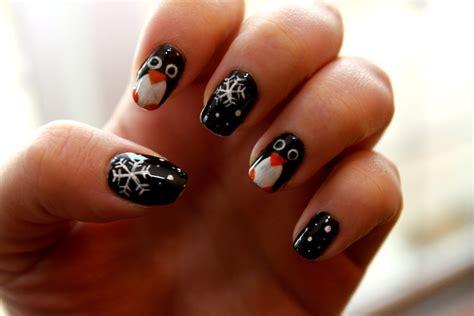 Penguin Nail Art By Wimskrybee On Deviantart