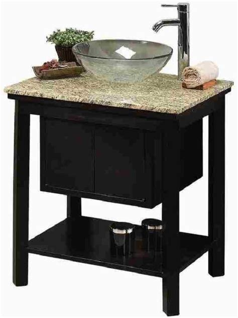 small cabinet for vessel sink vessel sink cream granite top faucet included bathroom