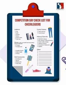 Cheerleader Checklist