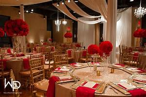 red and gold wedding at wo music school wedding ideas With wedding decoration red and gold