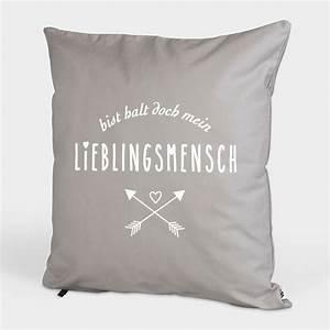 Kissen Günstig Bedrucken : kissen wohnen visual statements ~ Markanthonyermac.com Haus und Dekorationen