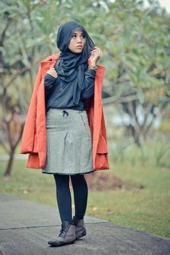 fashion hijab ala korea