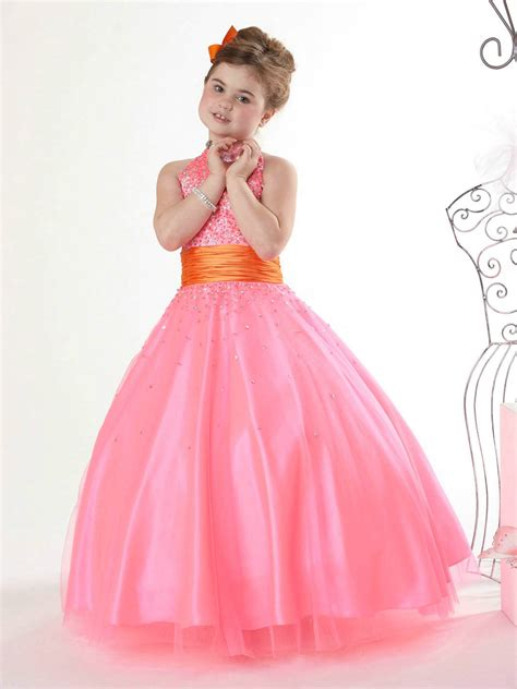 girls pink dress dresses dotcom
