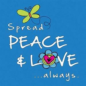 Love And Peace : gallery spread peace and love ~ A.2002-acura-tl-radio.info Haus und Dekorationen