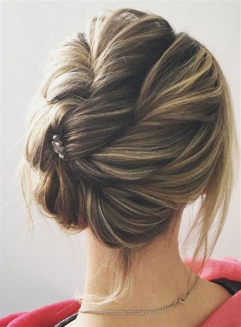 this gorgeous wedding hair updo hairstyle idea will