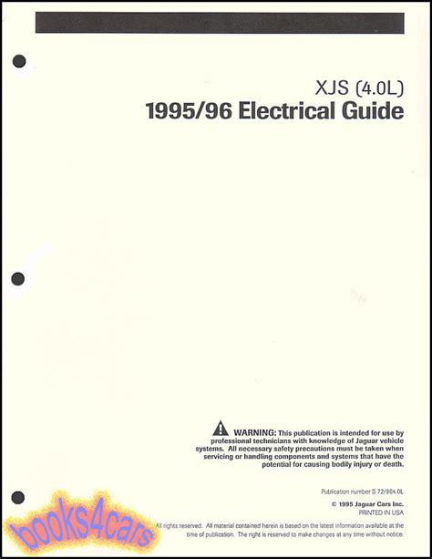 Jaguar Xjs Shop Manual Electrical Guide Wiring