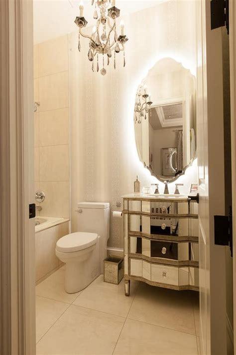 french bathroom  mirrored sink vanity french bathroom