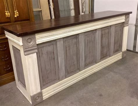 vintage retail counter just finished this chic custom counter this evening 3253