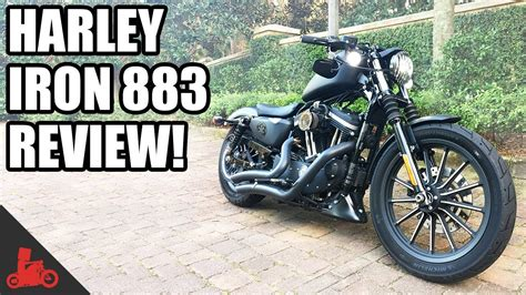 Review Harley Davidson Iron 883 by Harley Davidson Iron 883 Sportster Review