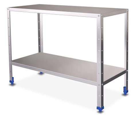 etagere pour chambre froide table inox centrale démontable table inox table inox