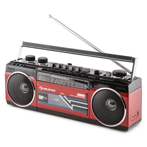 Cassette Player by Duke Retro Boombox Portable Cassette Player Usb Sd