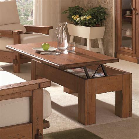 mesa de centro rustica elevable ecorustico venta de muebles