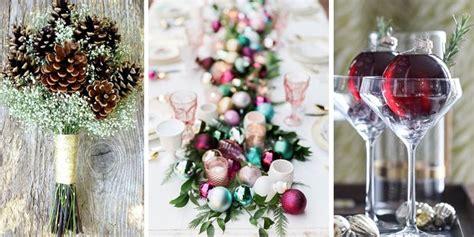 winter wedding ideas christmas wedding decorations