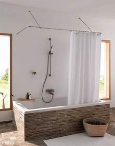 Duschvorhangstange Für Badewanne : phos edelstahl duschvorhangstange u form wandhalterung dsu1700 700w duschvorhangstangen wohn ~ Markanthonyermac.com Haus und Dekorationen