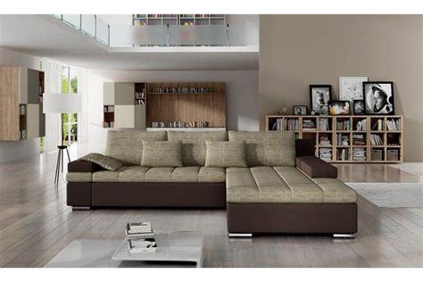 canapé d angle moelleux canapé d 39 angle convertible en tissu cuir pu