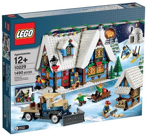 Le Cottage Lego Creator 10229 Pas Cher Le Cottage D Hiver