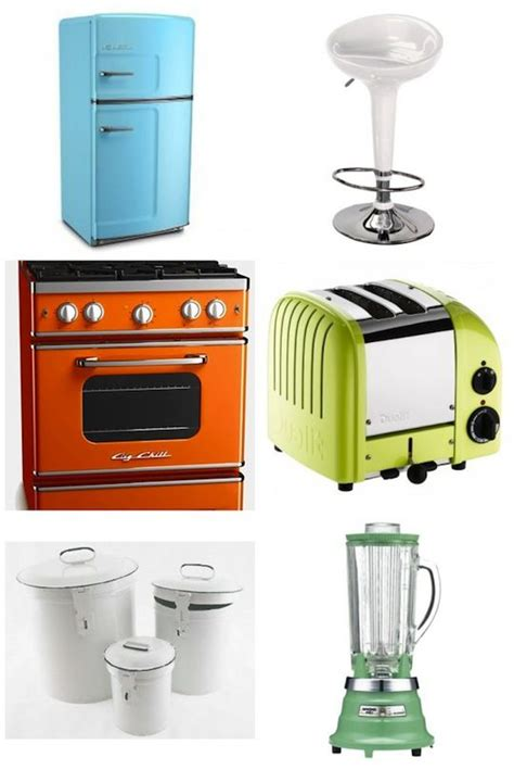 Kitchen Collections Appliances Small by Get The Look A Retro Kitchen For The Home Retro