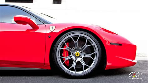 ferrari 458 wheels cec edition ferrari 458 italia gets the first technomesh