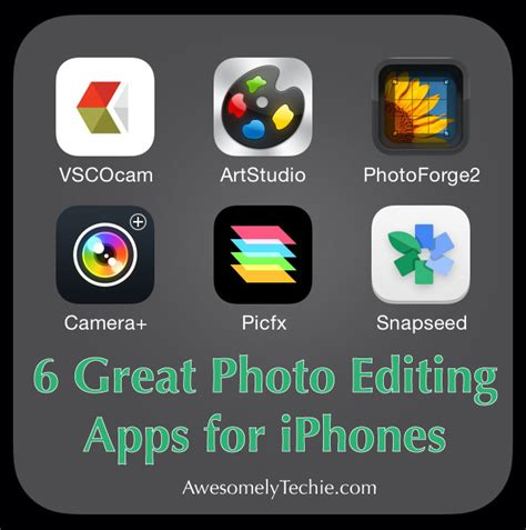 editing app for iphone 6 great photo editing apps for iphones awesomely techie Editi