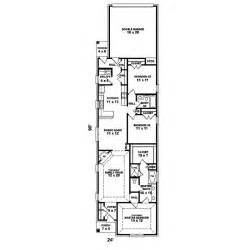 narrow house plans with rear garage narrow lot house - House Plans For Narrow Lots With Garage