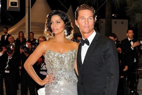 Matthew Mcconaughey And Camila Alves Are Married