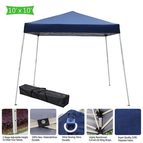 ubesgoo    pop  canopy tent folding tent  carry bag walmartcom walmartcom