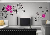 easy wall painting ideas Easy Simple Wall Painting Designs For Living Room On Home ...