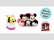 New Mickey and Friends 1950's Diner Micro Tsum Tsum Set