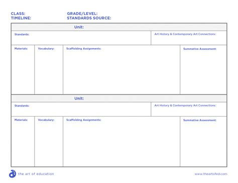 Curriculum Map Template by Comprehensive Curriculum Exles For Every Age Level