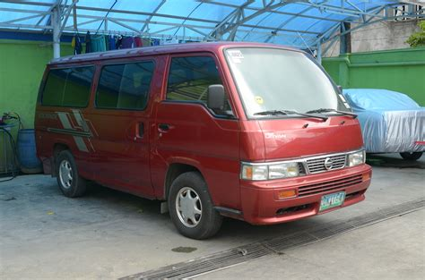 nissan urvan escapade modified nissan urvan escapade dimensions