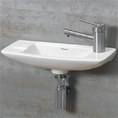 Small Wall Mounted Bathroom Sink by Wall Mounted Bathroom Sinks For Your Half Bath Or Water Closet