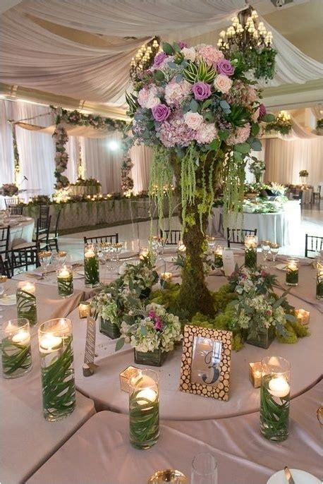 enchanted forest quinceanera wedding decorations