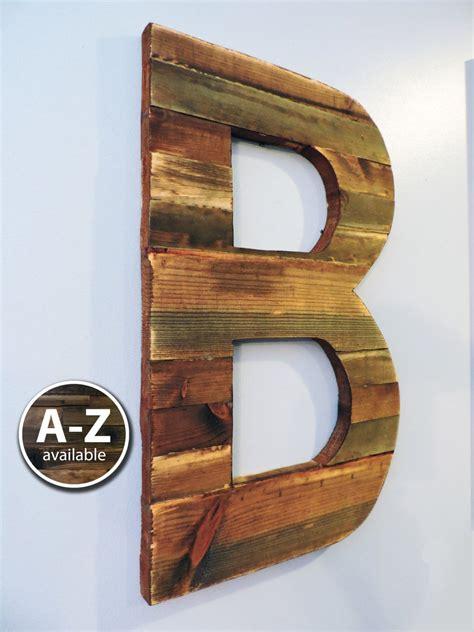 large wood letters rustic letter cutout custom wooden wall etsy large wooden letters large