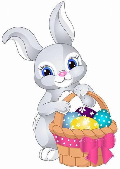 Easter Clipart Bunny Chick Transparent Rabbit Bunnies