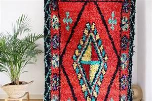 Grand Tapis Berbere : grand tapis boucherouite berb re tiss main au maroc ~ Teatrodelosmanantiales.com Idées de Décoration