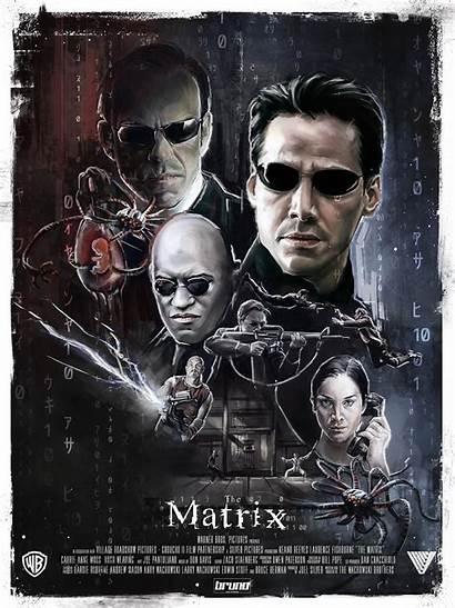 Matrix Poster Posters Film Filme 1999 Wall