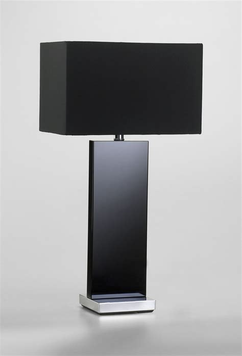 vista black table lamp moss manor  design house