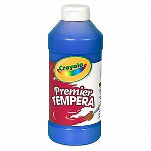 Crayola Premier Tempera Paint Blue by Office Depot & OfficeMax