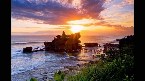 tanah lot bali tempat wisata  indonesia youtube