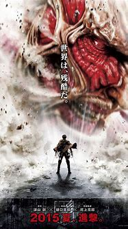 Colossal Titan Revealed In Poster For Live Action ATTACK ...