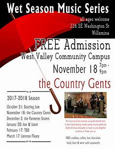 Wet Season Music | West Valley Community Campus